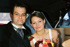 Paul and Danica Weeks on their wedding day in November 2007. The couple have two small children.