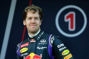 Sebastian Vettel. Photo / AP