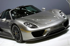A Porsche 918 Spider. Photo / AP