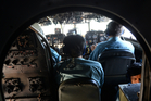 Vietnamese air force crew manage a plane during a search and rescue operation for the aircraft. Photo / AP