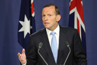Australia's Prime Minister Tony Abbott has announced a fleet of unmanned drones will patrol Australia's borders. Photo / AP
