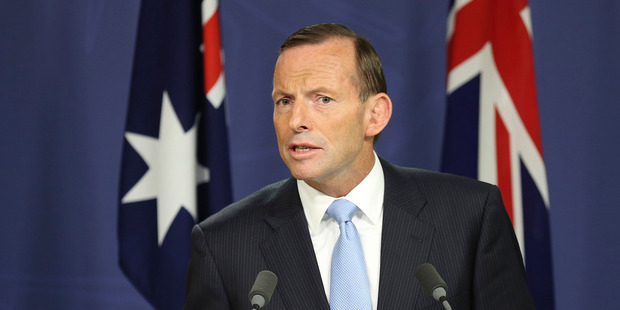 Australia's Prime Minister Tony Abbott has announced a fleet of unmanned drones will patrol Australia's borders. Photo / AP