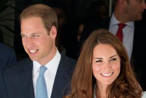 The Duke and Duchess of Cambridge. Photo / AP