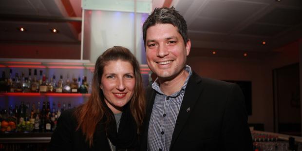 Victoria Dawson-Wheeler and Jesse Mulligan. Photo / APN