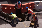 Are there awards for road workers? The Pulitzers of road maintenance? There should be. Photo / APN