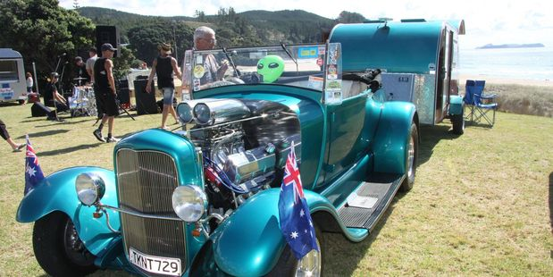Funds from the Whangamata Community Board and Thames-Coromandel District Council will pay for infrastructure and help make this year's Beach Hop just as fantastic as it was last year, when up to 100,000 people visited the town.