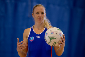 Mystics secured a major coup in signing midcourt dynamo Laura Langman. Photo / Dean Purcell