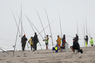 There won't be much fishing tomorrow when Cyclone Lusi hits Northland. Photo / File