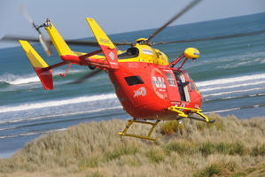Financial backing for the rescue helicopter is set to be slashed by $450,000. Photo / APN