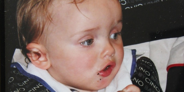 Two-year-old Caleb Skinnner.