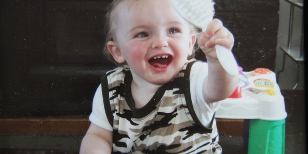 Masterton two-year-old Caleb Skinnner.