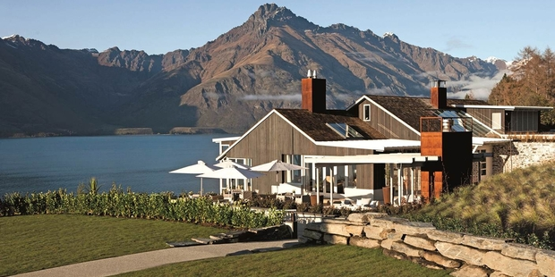William and Kate will enjoy spectacular views from Matakauri Lodge.