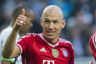 Bayern's Arjen Robben. Photo / AP