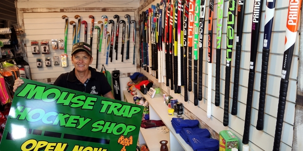 Michelle Low is catering for the hockey fraternity from her newly opened store at Gonville domain.  Photo/Stuart Munro