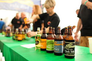 Sample local artisan brews at the Beer Festival.