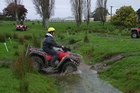 POPULAR: There are estimated to be more than 100,000 quad bikes in use throughout New Zealand.