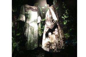 Looks in the Dries van Noten - Inspirations exhibition in Paris. Picture / Dan Ahwa