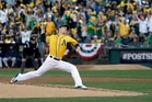 Oakland Athletics starting pitcher Sonny Gray. Photo / AP