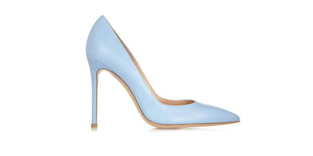 Gianvito Rossi leather pumps from Net-a-Porter.com.