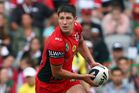 The Dragons' Gareth Widdop was a solid fantasy pick-up last weekend and will again be playmaker and kicker against the Warriors. Picture / Getty Images