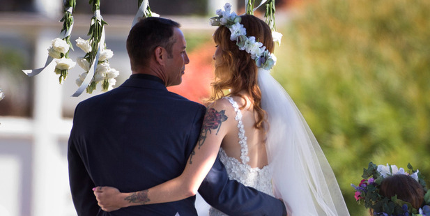 Adam Parore married Miller Rose MacLeod-McGhie in Omapere on the Hokianga Harbour.