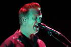 Josh Homme performs with Queens of The Stone Age at Vector Arena in Auckland. Photo/Sarah Ivey