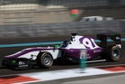 Nick Cassidy tested successfully last November with Status Racing in Abu Dhabi.