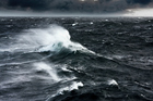 Rough seas stopped a Navy vessel from retrieving the missing boat. Photo/Thinkstock
