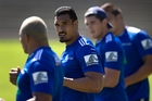 Jerome Kaino has been training hard in a bid to regain his dominating style while the Blues were on tour in South Africa. Photo / Brett Phibbs