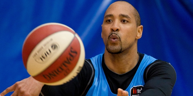 Breaker's veteran CJ Bruton plays his last game in the Aussie NBL tonight. Photo / Greg Bowker