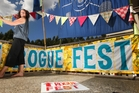 Organiser Karin Vincent is gearing up for this weekend's Rogue Festival. Photo / Ben Fraser