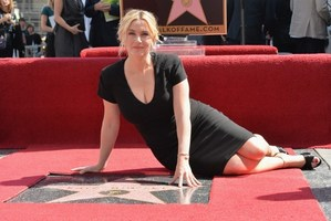 Actress Kate Winslet is honoured with 2,520th Star on the Hollywood Walk of Fame. Photo / AFP