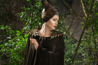 Angelina Jolie in a scene from the film Maleficent.
