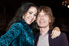 L'Wren Scott and Mick Jagger. Photo/AP