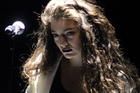 Lorde has called US gossip mongers 'creeps' after being hounded over false engagement rumours. Photo/AP