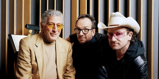 "Tony Bennett, with Elvis Costello and Bono, has described modern songwriting as ""mostly terrible""."