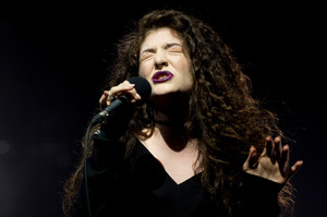 Lorde has joined the Lollapalooza line-up. Photo/Dean Purcell