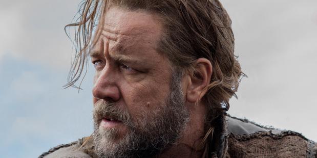 Russell Crowe stars in Noah.