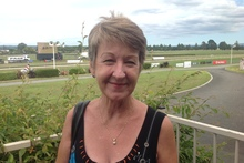 """Just the enjoyment of the whole day and watching the jockeys and trainers."" - Kay Evans, 59, Papamoa."