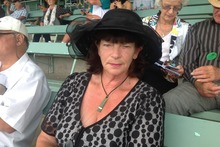 """A favourite part for us is seeing good horses race."" - Val Gates, 66, Bethlehem."