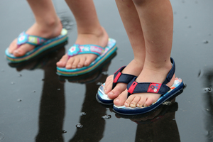 Jandles are always a good choice of footwear in Northland!