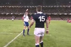While Kiwi code fans were busy watching Super Rugby or perhaps Ireland v France last weekend, this shocking late hit may have slipped through the cracks. Photo / YouTube.