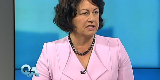 According to Hekia Parata, Te Pataka Ohanga is a subsidiary owned entirely by the trust; the Govt is not responsible for monitoring its expenditure. Photo / TVNZ