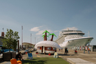 The Maldives Exodus Caravan Show at Queen's Wharf in Auckland. Photo / Samuel Hartnett