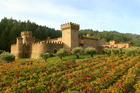 Guests can indulge in wine tasting at Castello di Amorosa before exploring some of its many rooms. Photo / Jim Sullivan
