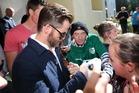 Chris Pine arriving at Ashburton District Court. Photo / Ashburton Guardian