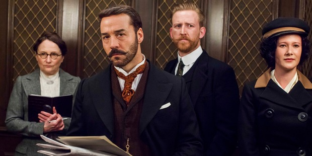 The cast of 'Mr Selfridge'.