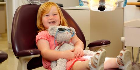 Hollie Smith, 2, has healthy teeth. Photo / Chris Gorman