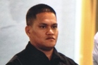 Teina Pora in the Auckland High Court this morning for his bail hearing. Photo / Sarah Ivey