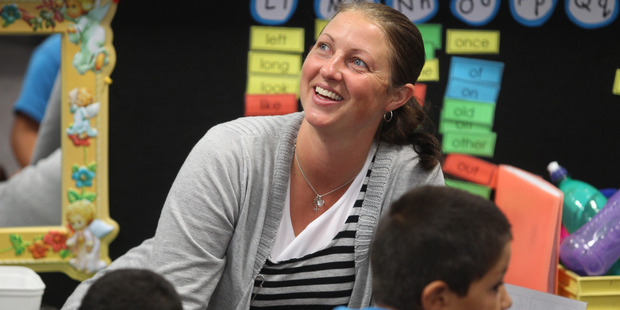 Maketu School teacher Esther Geerlings was nominated for the Awesome Teachers series because of her commitment to her work and her love of the job. Photo/John Borren